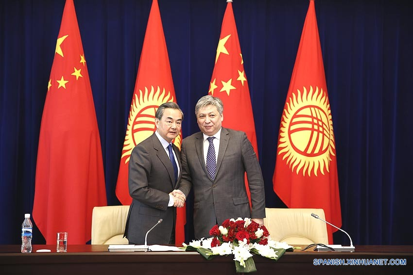Canciller chino enfatiza apoyo de China a Asia Central