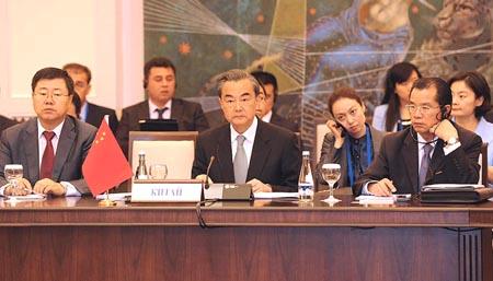Canciller chino destaca papel de OCS en desarrollo regional