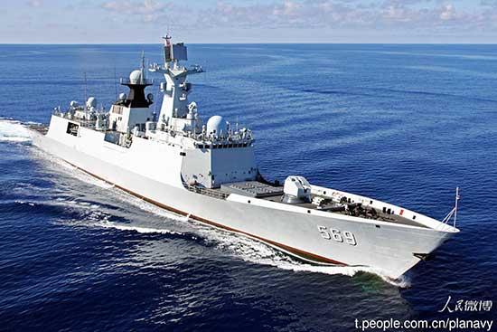 China defiende su postura en el mar Meridional de China