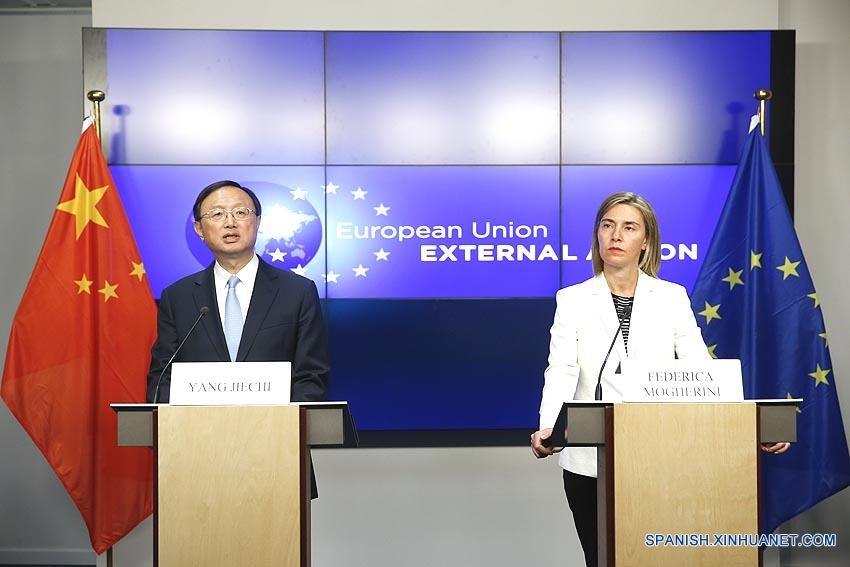 China y UE sostienen diálogo estratégico de alto nivel
