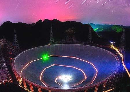Análisis de Xinhua: Mayor radiotelescopio del mundo queda totalmente instalado en suroeste de China