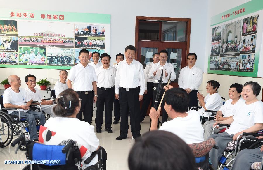 Presidente chino pide fortalecer capacidad contra desastres durante inspección a Tangshan