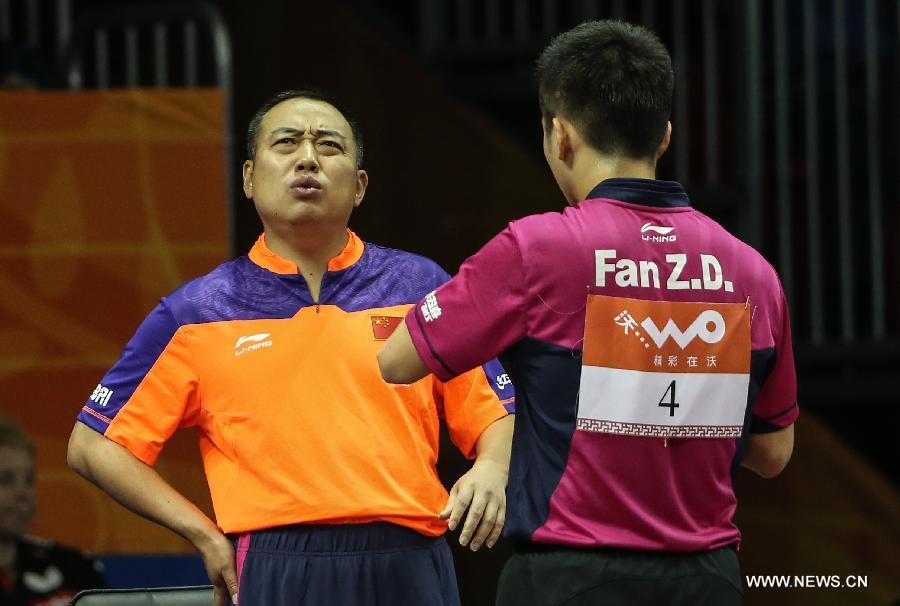 Deportistas chinos que conoces: Liu Guoliang