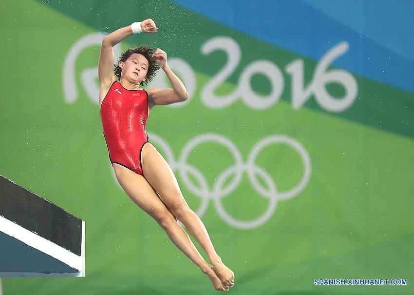 Río 2016: Ren Qian, medallista de oro más joven de JJOO de Río