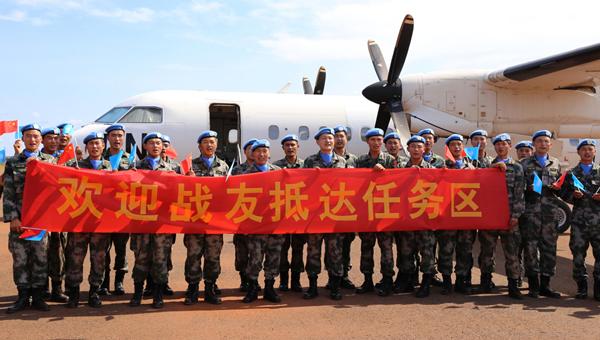 China rechaza que sus tropas abandonan puestos de Sudán del Sur