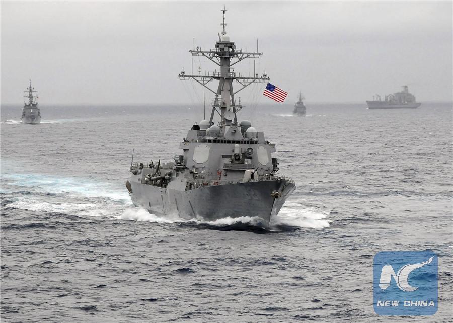 China condena provocaciones de ejército de EEUU en Mar Meridional de China