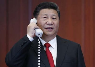 (2, at the command center of China's manned space program in Beijing, capital of China. (Xinhua/Ju Peng/Li Tao) (zyd)