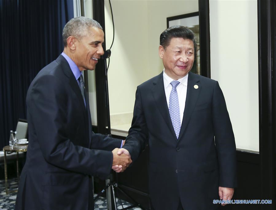Xi y Obama acuerdan mantener crecimiento sano y estable de lazos China-EEUU
