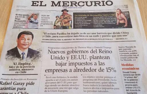Texto íntegro del artículo del presidente chino publicado en el diario de Chile