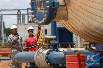 VENEZUELA-MONAGAS-CHINA-OIL