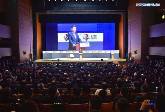 Discurso de presidente chino en APEC pone a China y Asia-Pacífico a la vanguardia global