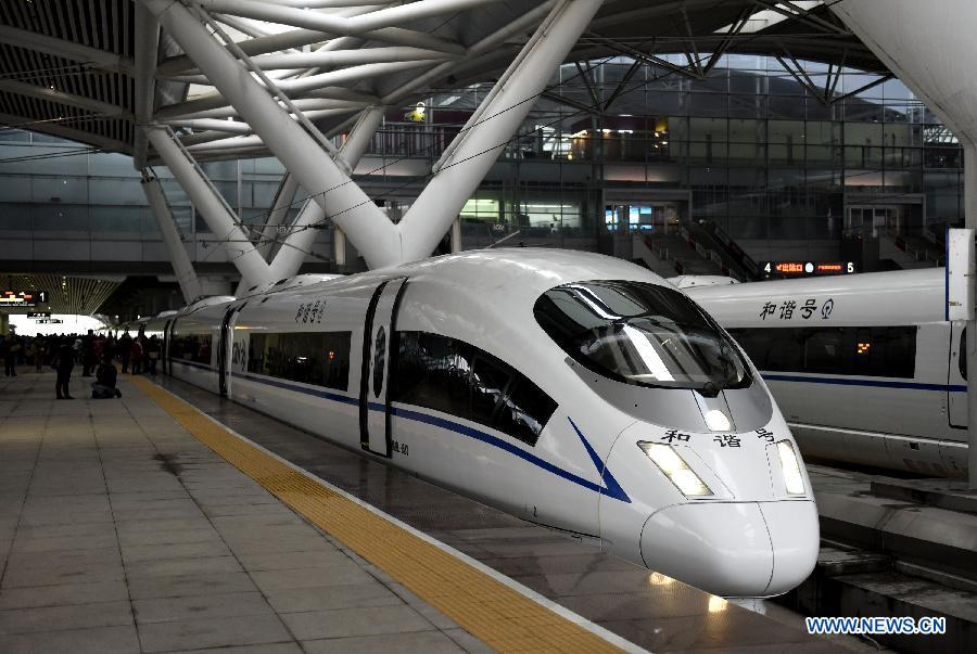 China pone en marcha ruta más larga de tren de alta velocidad
