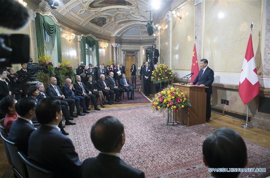 Presidente chino consolidará amistad y cooperación durante viaje a Suiza