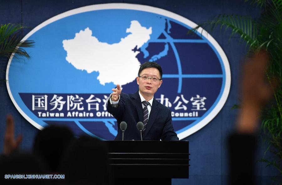 """""""Independencia de Taiwan"""" es la mayor amenaza para la paz y estabilidad a través del estrecho, subraya portavoz"""