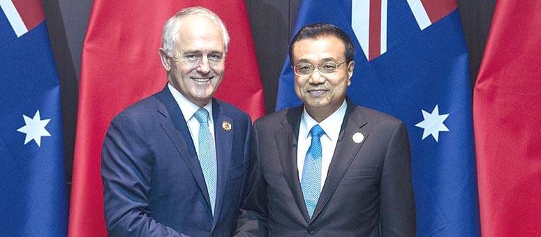 China dará nuevo impulso a lazos con Australia y Nueva Zelanda