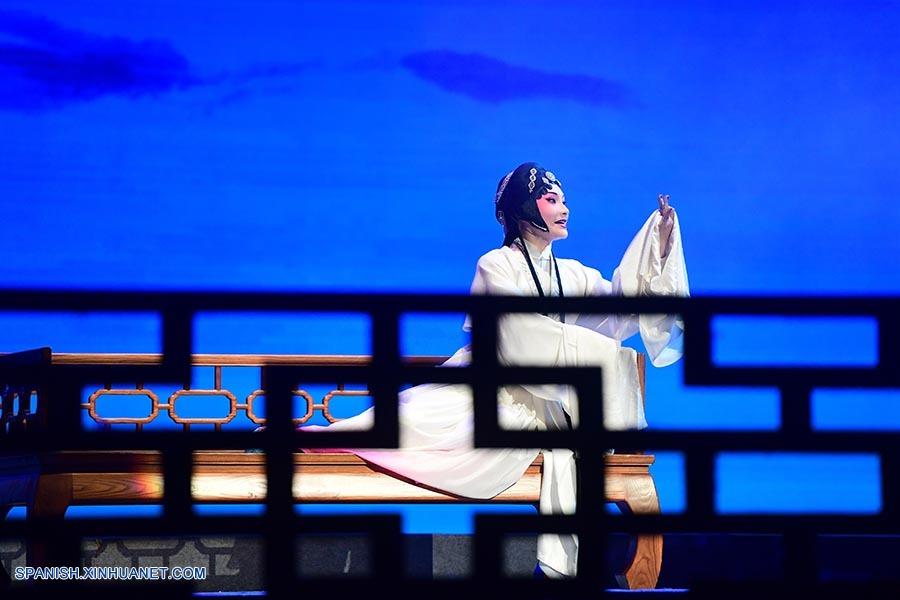 """El clásico del teatro chino """"El Pabellón de las Peonías"""", ahora en español"""