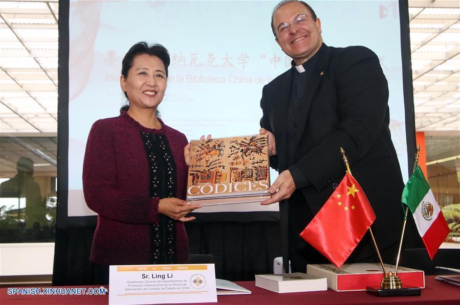 Nueva Biblioteca China se inaugura en Universidad Anáhuac en Huixquilucan, México