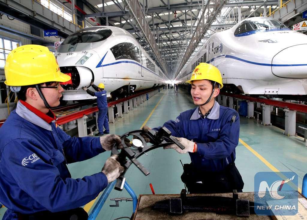 Cifras: Desarrollo económico de China desde 2012