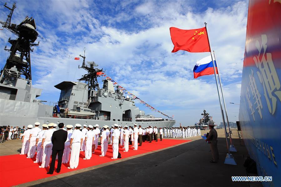 Flota naval china parte hacia ejercicio conjunto en Rusia