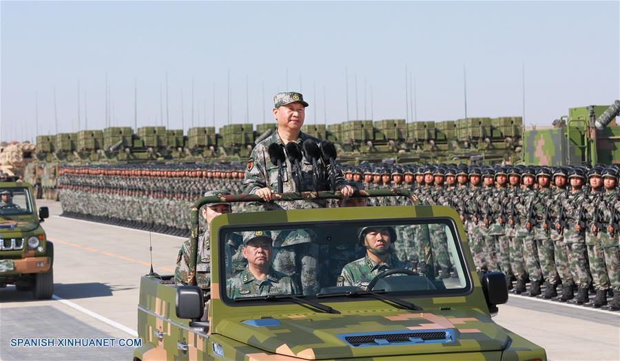 Presidente chino pronuncia discurso por el Día del Ejército