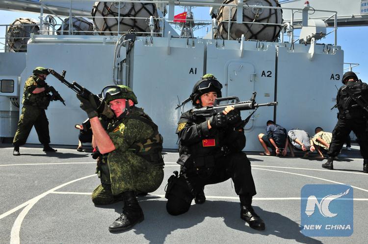 China y Rusia realizan ejercicios de simulación de operaciones navales conjuntas