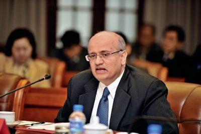 Shri Vijay Gokhale, Embajador de la India en China.
