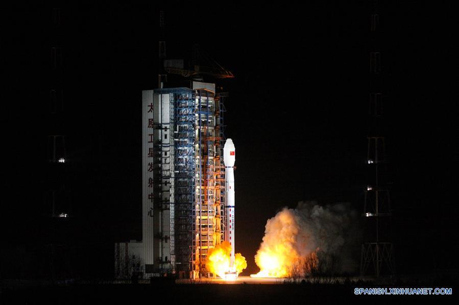 China lanza nuevo satélite meteorológico