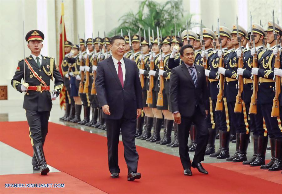 China y Maldivas fortalecerán cooperación en la iniciacitiva de la Franja y la Ruta