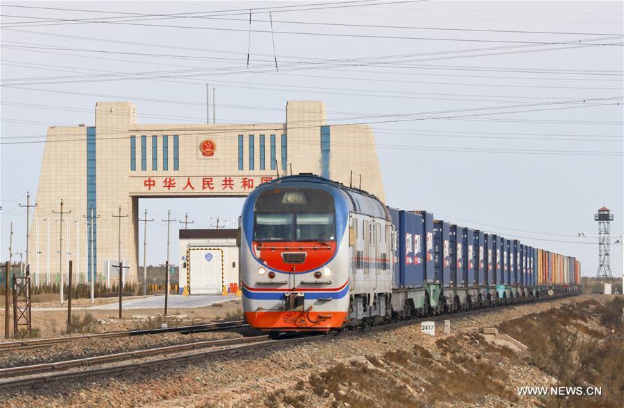 Ciudad china de Jinhua lanza servicio de tren de carga a Francia