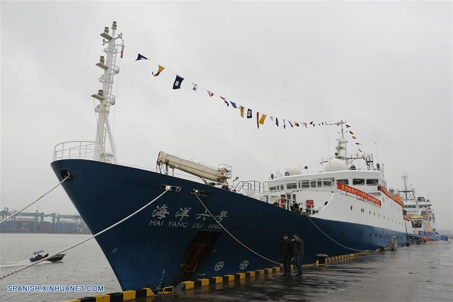 Concluye pruebas de mar nuevo buque chino de investigaciones geofísicas