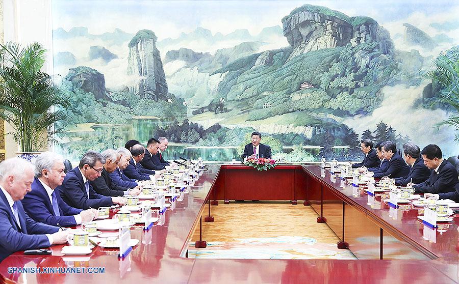 Xi pide fortalecer cooperación en seguridad de OCS