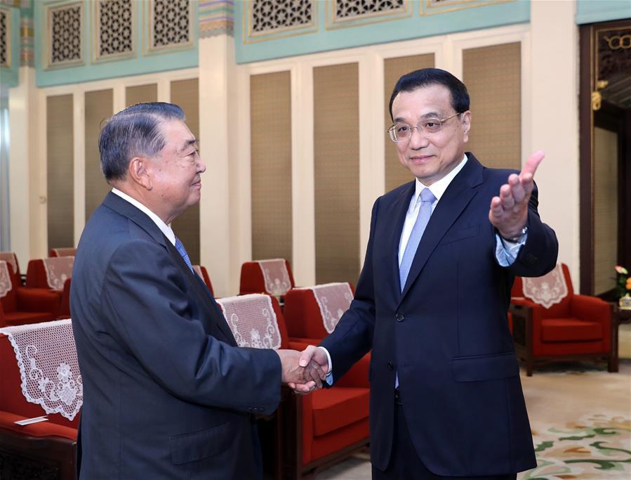 Primer ministro chino pide relaciones China-Japón sanas y estables