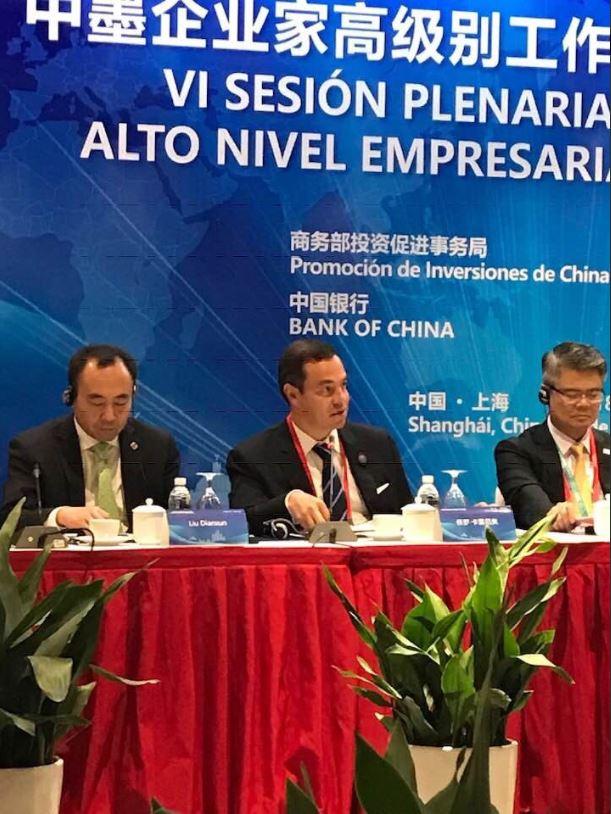 """Director de ProMéxico cree que la apertura de China """"oxigena"""" contra """"vientos de proteccionismo"""""""