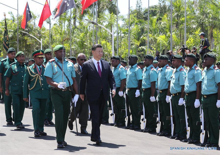 Xi busca impulsar las relaciones China-Papúa Nueva Guinea con la visita de Estado