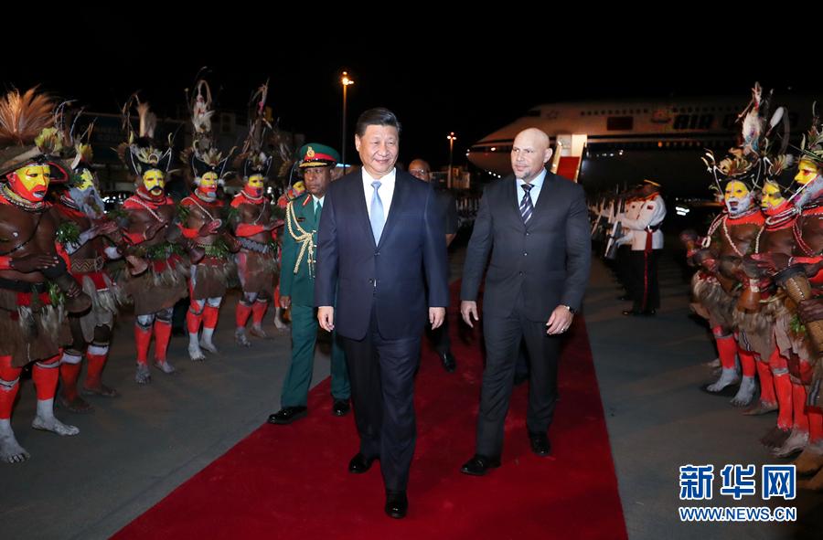 Presidente de China inicia viaje para asistir a reunión de APEC y visitar Papúa Nueva Guinea, Brunei y Filipinas