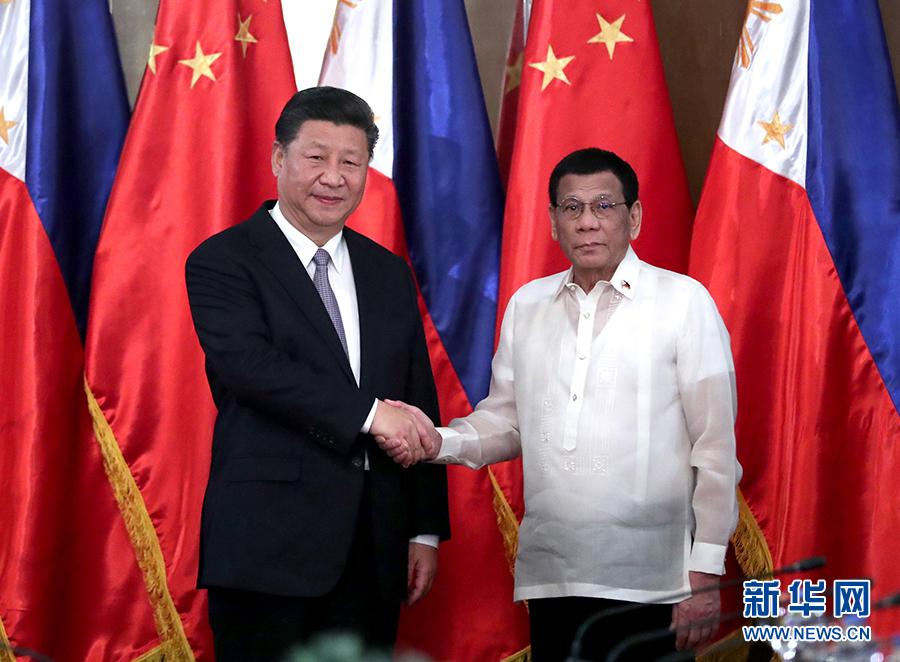 China y Filipinas elevan nivel de relaciones y acuerdan avanzar en construcción Franja y Ruta