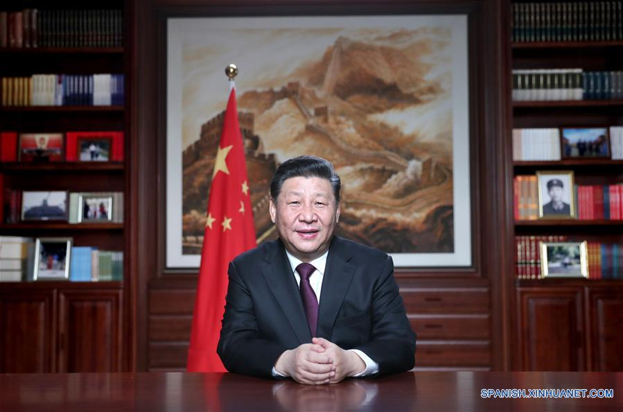 Presidente chino pronuncia discurso de Año Nuevo