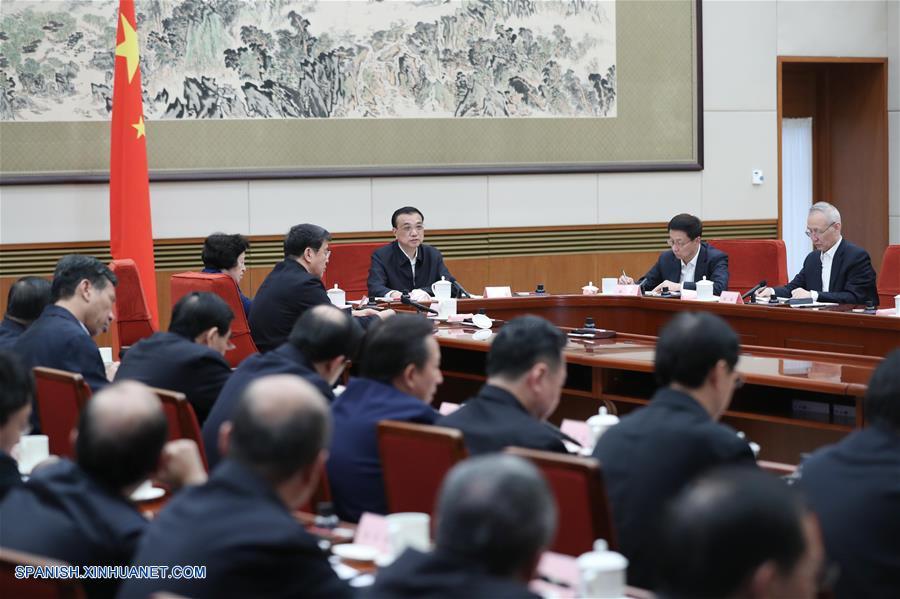 Primer ministro chino pide innovación tecnológica para apoyar desarrollo