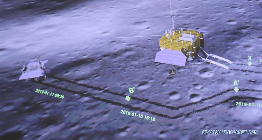 Sonda china Chang'e 4 reanuda trabajo tras noche lunar