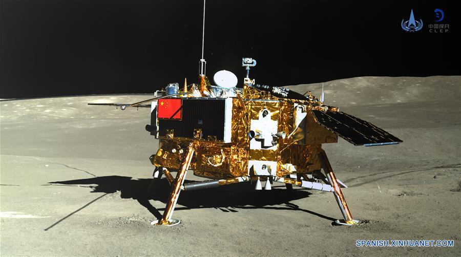 China declara completo éxito la misión Chang'e-4