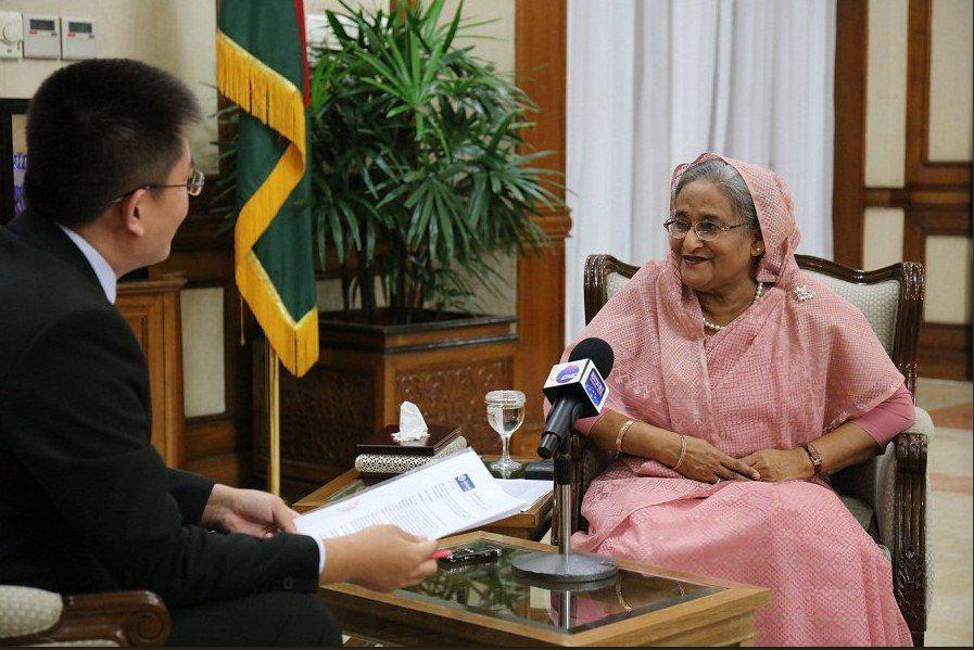 Primer ministro chino felicita a Hasina por reelección como primera ministra Bangladesh