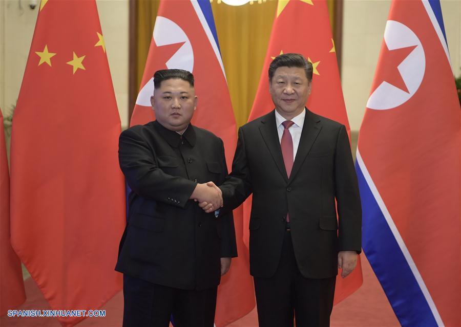 Xi Jinping y Kim Jong Un conversan en Beijing, alcanzando consensos importantes