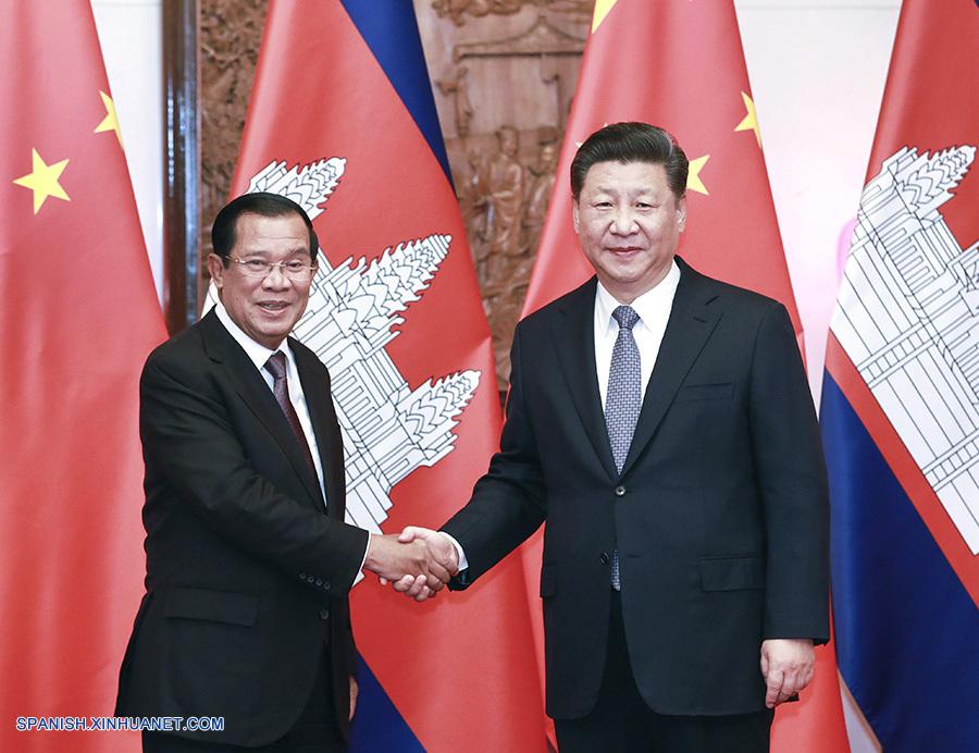 Presidente chino pide construcción de comunidad de destino China-Camboya