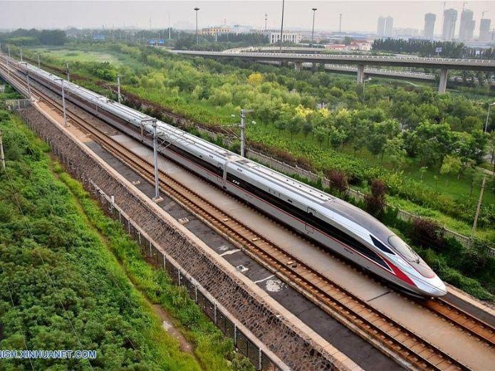 Trenes bala Fuxing más largos harán su debut en línea Beijing-Shanghai