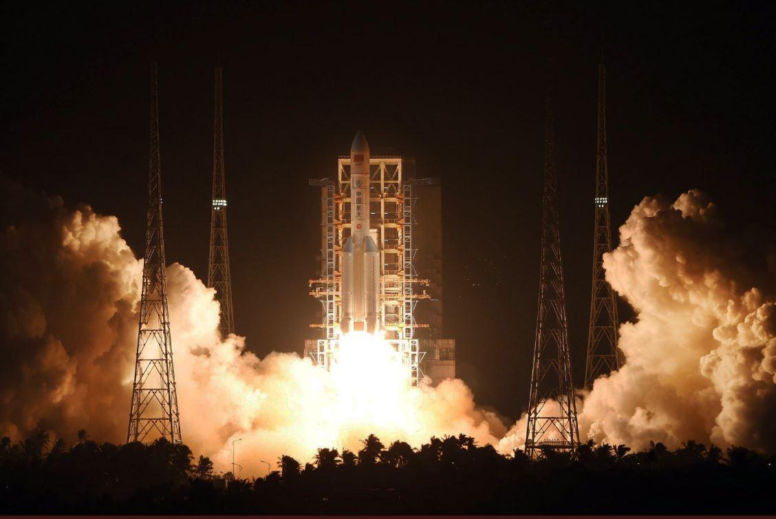 Nuevo propulsor sólido para cohetes espaciales chinos completa prueba