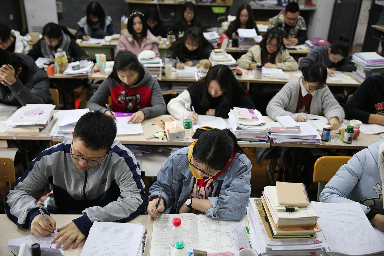 China demanda examen de ingreso 2019 a universidad más integral
