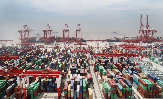 Comercio exterior de China sube 4.1% en enero-mayo