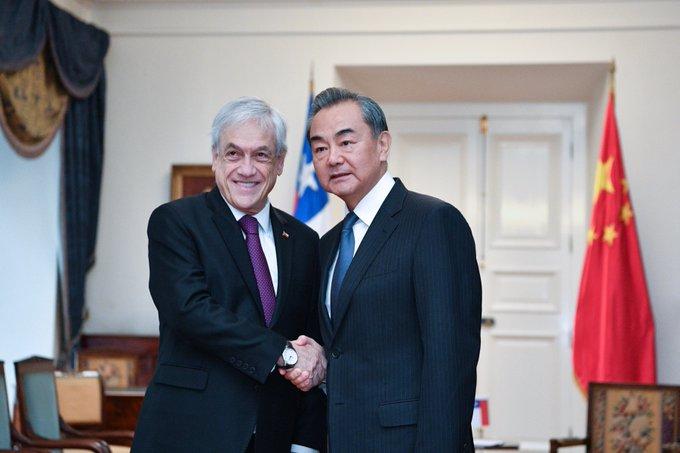 Chile y China prometen promover relaciones bilaterales