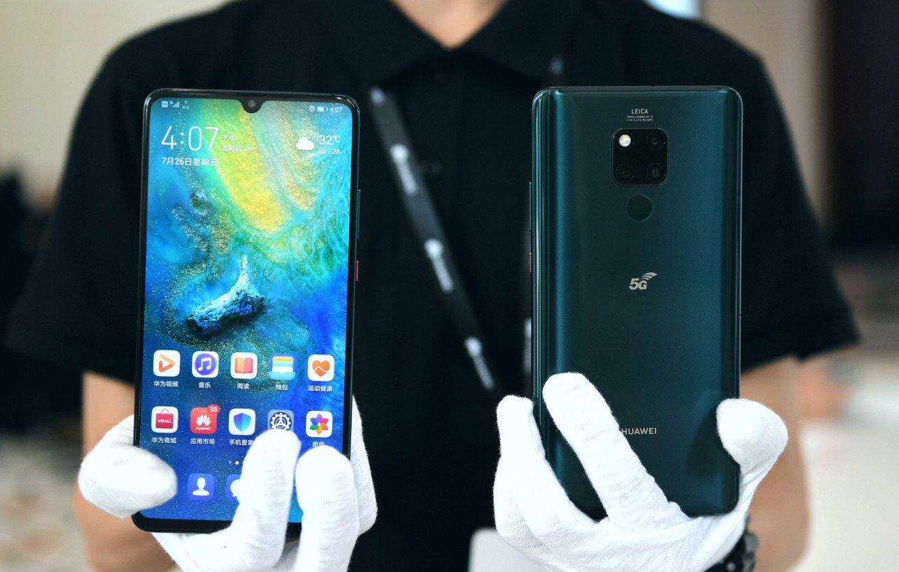 Huawei presenta primer teléfono móvil 5G para uso comercial