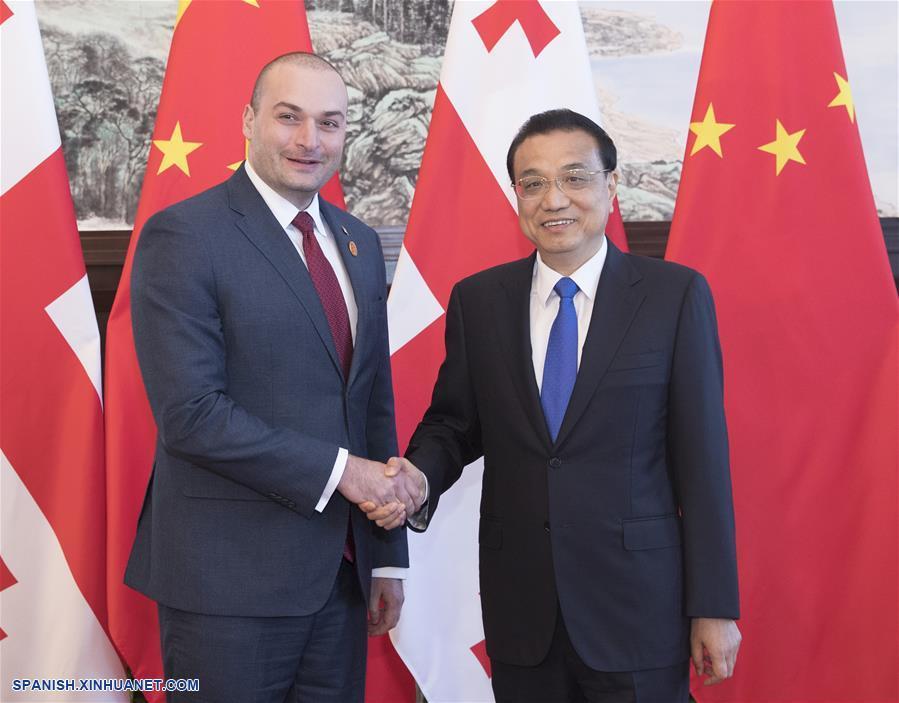 Premier chino se reúne con homólogo de Georgia